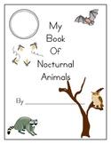 Nocturnal Animals Book - Alternate