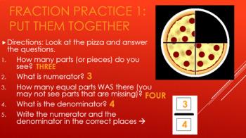 Alternative Assessment: Adding Fractions