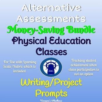 Alternative Assessments Bundle for Physical Education Students