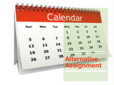 Alternative Assignment