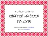 Rubric Pack: Alternative Book Reports