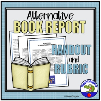 Alternative Book Report Assignment and Rubric