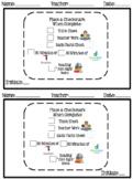 Alternative Curriculum Editable Chunked Schedule (ESE, Special Needs, EBD, ASD)