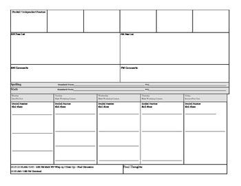 Alternative Education LP: 3 hour per class lesson plan format