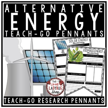 Alternative Energy Activity Poster  • Teach- Go Pennants™