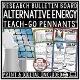 Alternative Energy Activity Poster -Solar Energy, Geothermal Teach- Go Pennants™