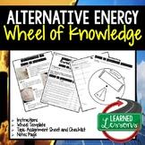 Alternative Energy Activity, Wheel of Knowledge Interactiv