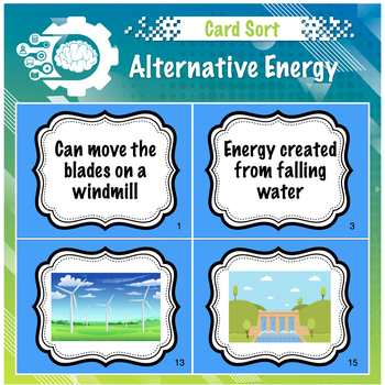 Alternative Energy Card Sort