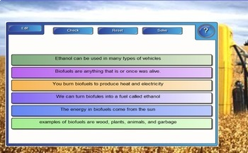 Alternative Energy Lesson