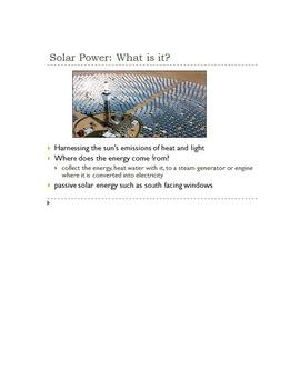 Alternative Energy Mini Unit