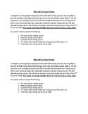 Alternative Energy Poster and Grading Sheet