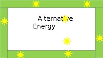 Alternative Energy Powerpoint