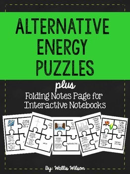 Alternative Energy Puzzles