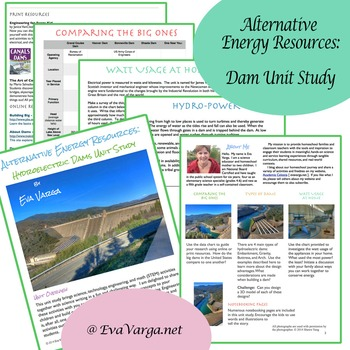 Alternative Energy Resources: Hydroelectric Dams