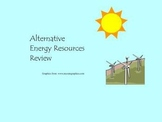 Alternative Energy Resources Review Game for Smart Board