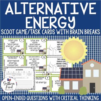 Alternative Energy Scoot Game/Task Cards
