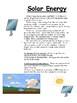 Alternative Energy: Solar, Wind, Hydro-, Geothermal, Biofuel Unit