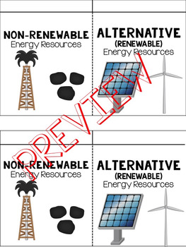 Alternative Energy vs. Non-Renewable Energy (Fossil Fuels)