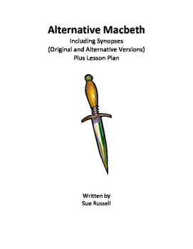 Alternative Macbeth guided reading or readers theater script & lesson plan