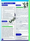 Alternative Medicine-Reading/Speaking/Vocabulary/Grammar part