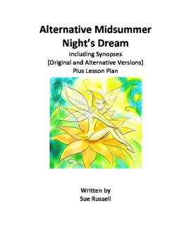 Alternative Midsummer Night's Dream guided reading script or Readers Theater
