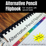 Alternative Pencil Flipbook - Writing Tool for Special Education