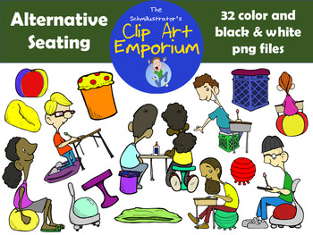 Alternative Seating Clip Art - The Schmillustrator's Clip Art Emporium