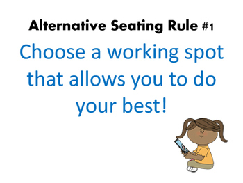 Alternative Seating Rules