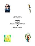 Alternative Shakespeare Guided Reading Scripts