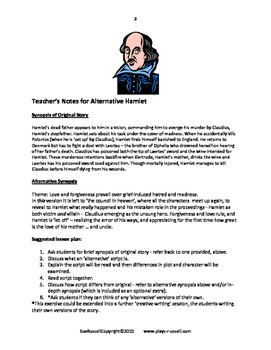 Alternative Shakespeare Guided Reading Scripts
