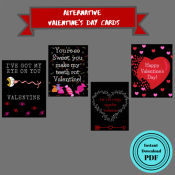 Alternative Valentine's Cards