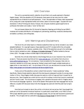 Alternative Voices in Literature Complete Unit