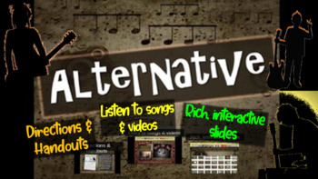 Alternative: comprehensive & engaging Music History PPT (links, handouts & more)