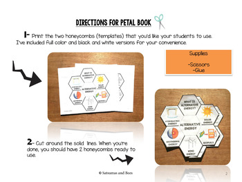 Alternative energy resources-Interactive Science Notebook foldables