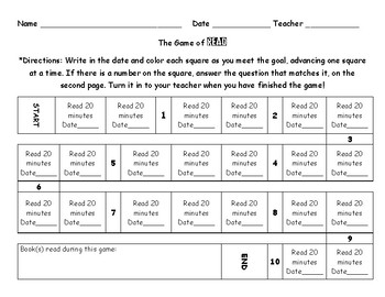 Alternative to Reading Logs - Game of READ