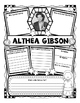 Althea Gibson Research Organizers for Women's History Month