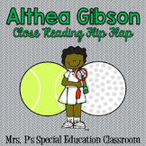 Althea Gibson Close Reading Flip Flap