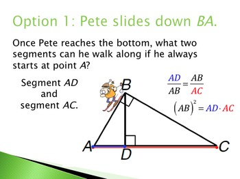 Geometry: Altitude to the Hypotenuse Theorems