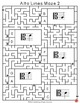 Alto Clef Lines Music Mazes