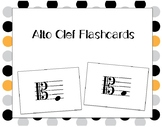 Alto Clef Pitch Flashcards