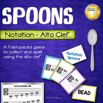 Alto Clef Spoons Game