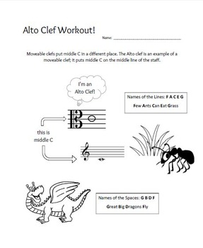 Alto Clef Workout!