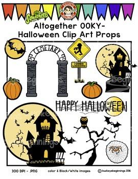 Halloween Clip Art - Squishies Clipart