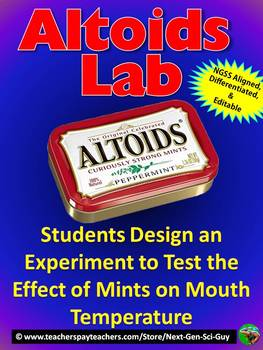 Altoids Lab: Design an Experiment to test the Effect of Mints on Mouth Temp.