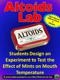 Design an Experiment Using Altoids - NGSS