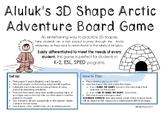 Aluluk's 3D Shape Arctic Adventure