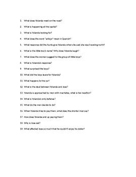 Alvarez Antojos Comprehensive Questions and Answers