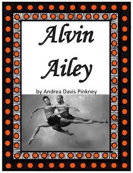 Alvin Ailey by Andrea Davis Pinkney Imagine It Grade 6