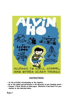 Alvin Ho - Allergic to Girls, School, and other Scary Things