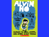 Alvin Ho Comprehension Chapter Questions